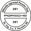 Officially approved Porsche Club 281